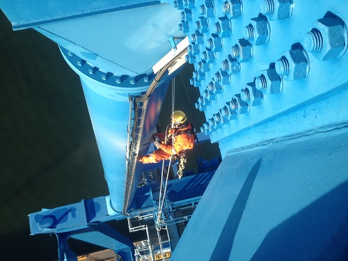 Offshore rope access