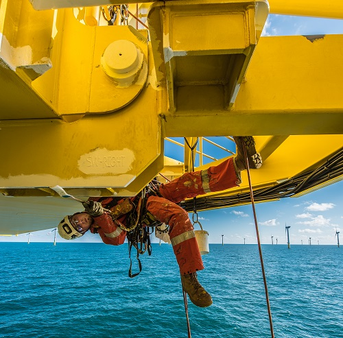 Rope Access offshore