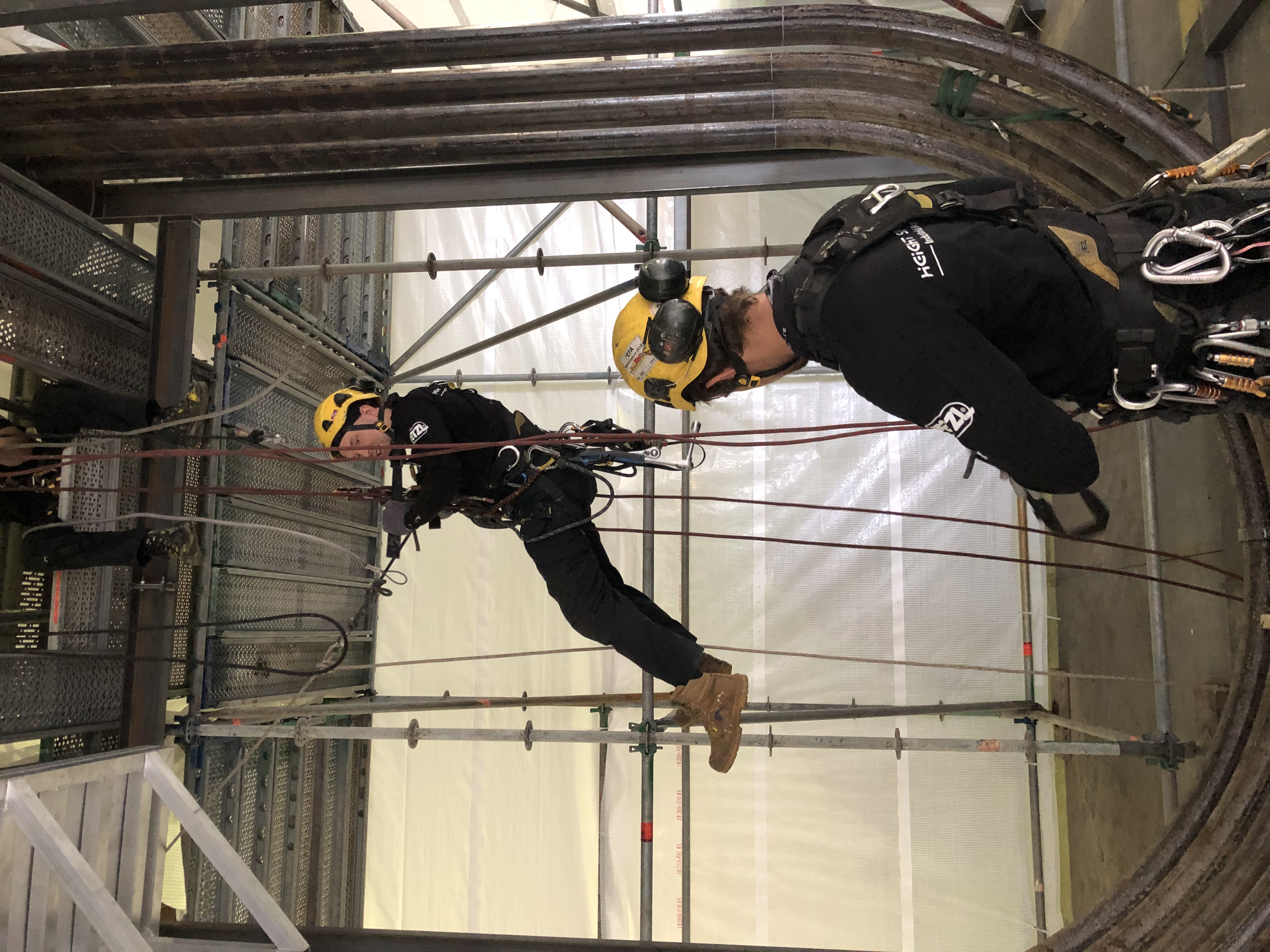 Rope access petrochemie