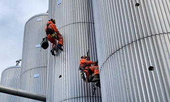 Inspectie rope access