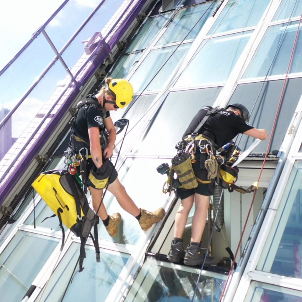 Civiel rope access