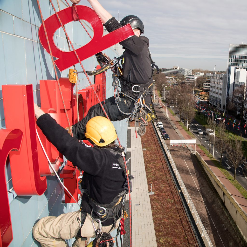 Reclame & promotie rope access