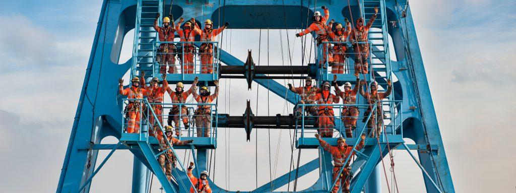 rope access technicians