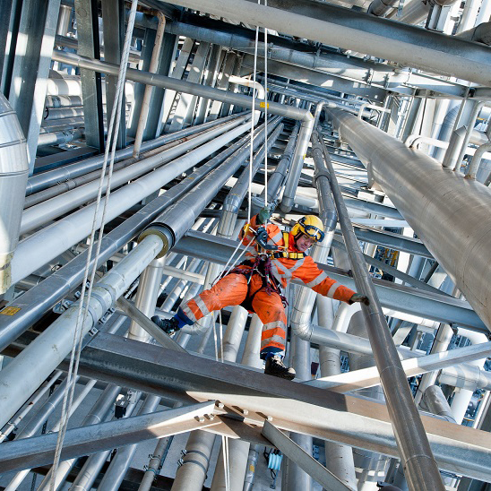 NDO specialist rope access