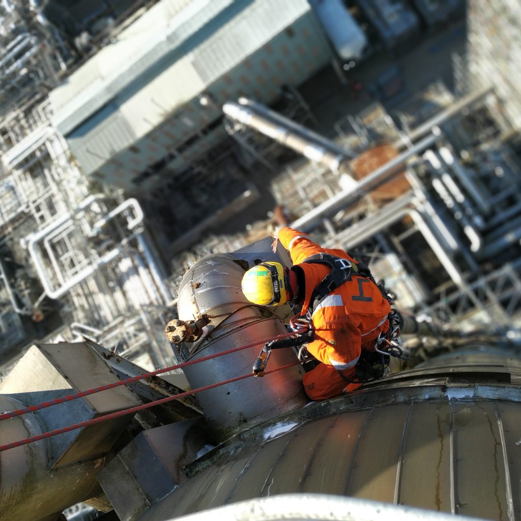 vacature industrie rope access